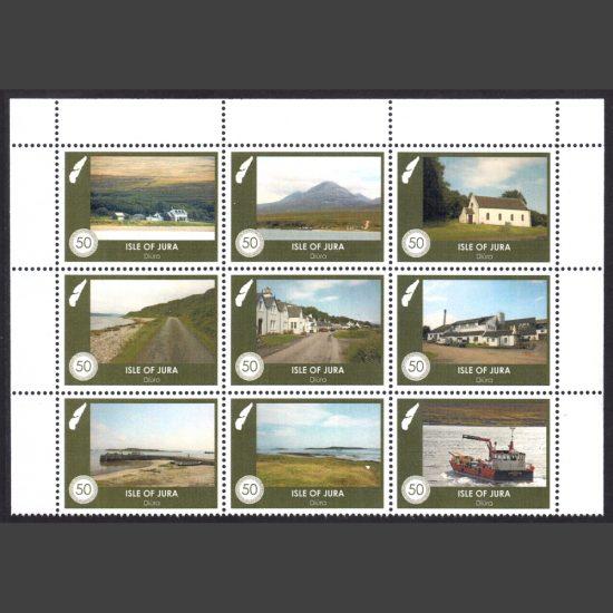 Jura 2020 Local Scenes (9 x 50p, U/M)