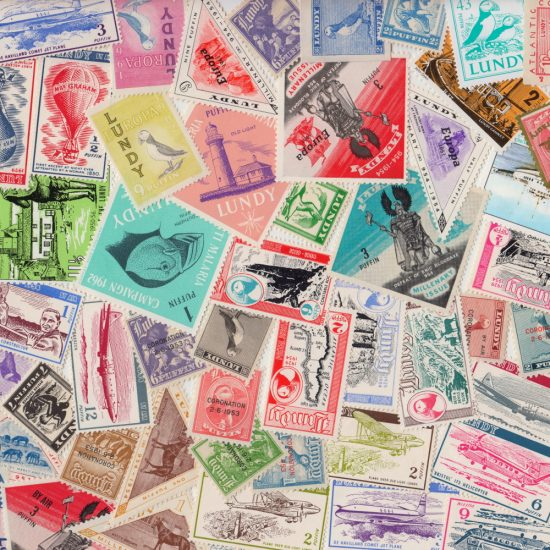 Lundy 50 Different Stamps (Mounted Mint)